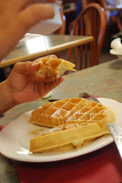 Belgian Waffles - what could be better?
